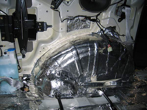 Шумоизоляция арок автомобиля своими руками