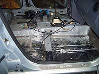 Шумоизоляция автомобиля рено логан